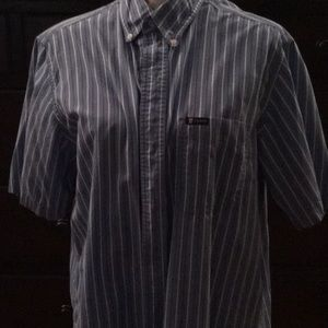 Short sleeve casual dress shirt